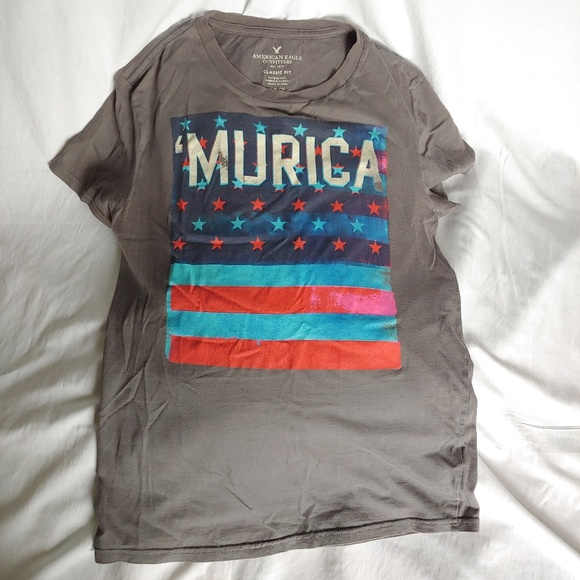 "American Eagle Outfitters Other - American Eagle Outfitters "" MURICA "" T-SHIRT"